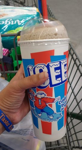 Coke ICEE from the Harvey Mitchell Walmart Location